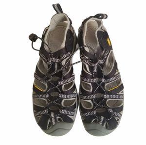 Keen Newport H2 Waterproof Black Sandal Size 6.5